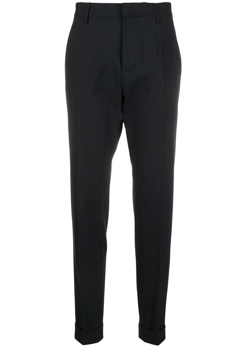 Dsquared2 turned up hem tailored trousers