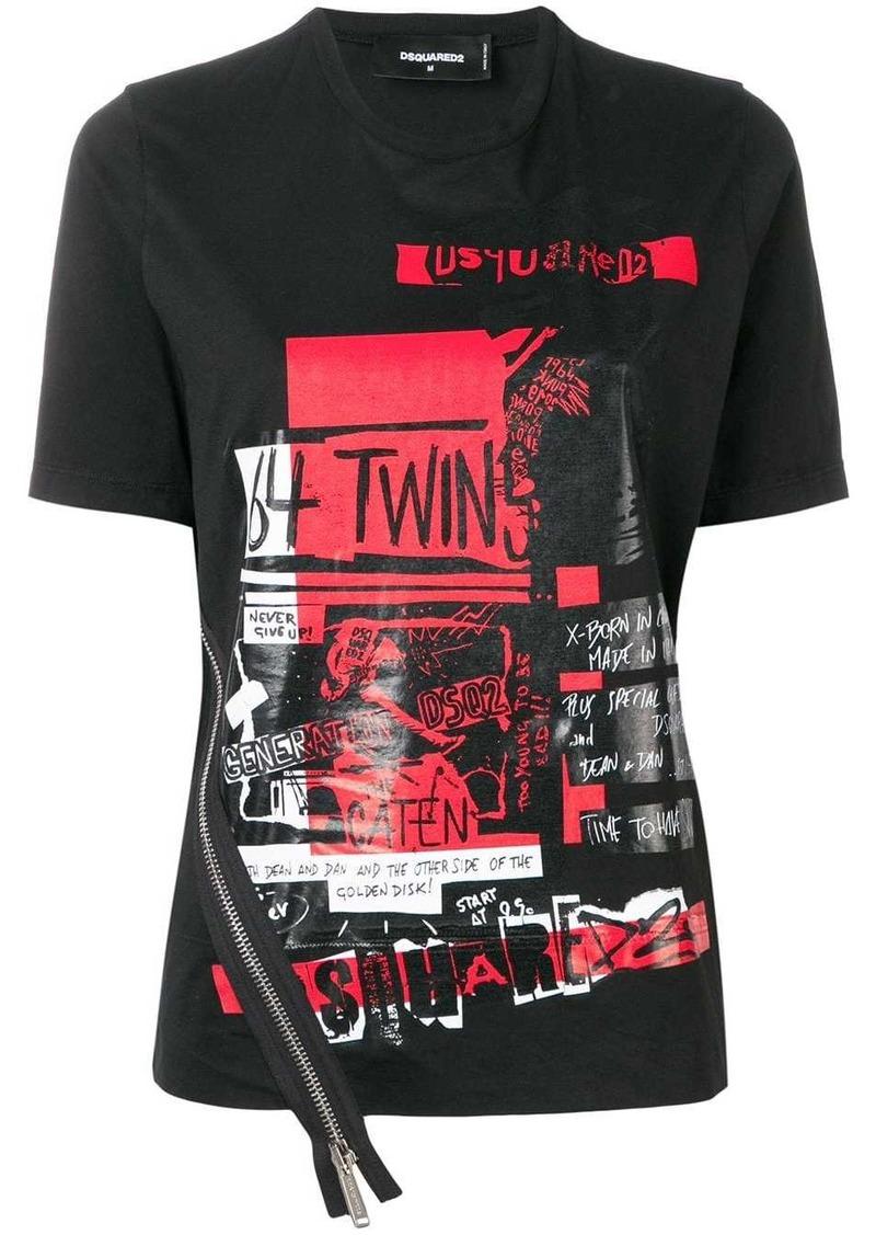 Dsquared2 Twins logo T-shirt