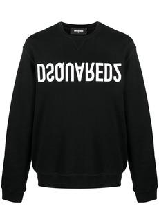 Dsquared2 upside down logo sweatshirt