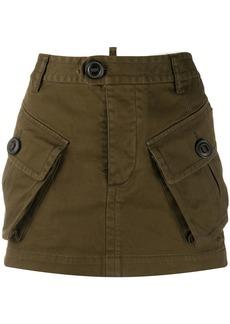 Dsquared2 utility mini skirt