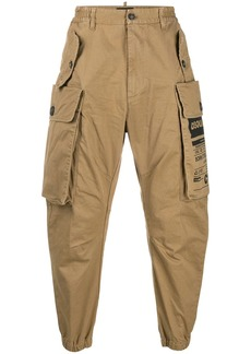 Dsquared2 utility pockets tapered trousers