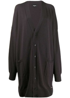 Dsquared2 V-neck long cardigan