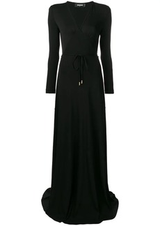 Dsquared2 V neck long dress