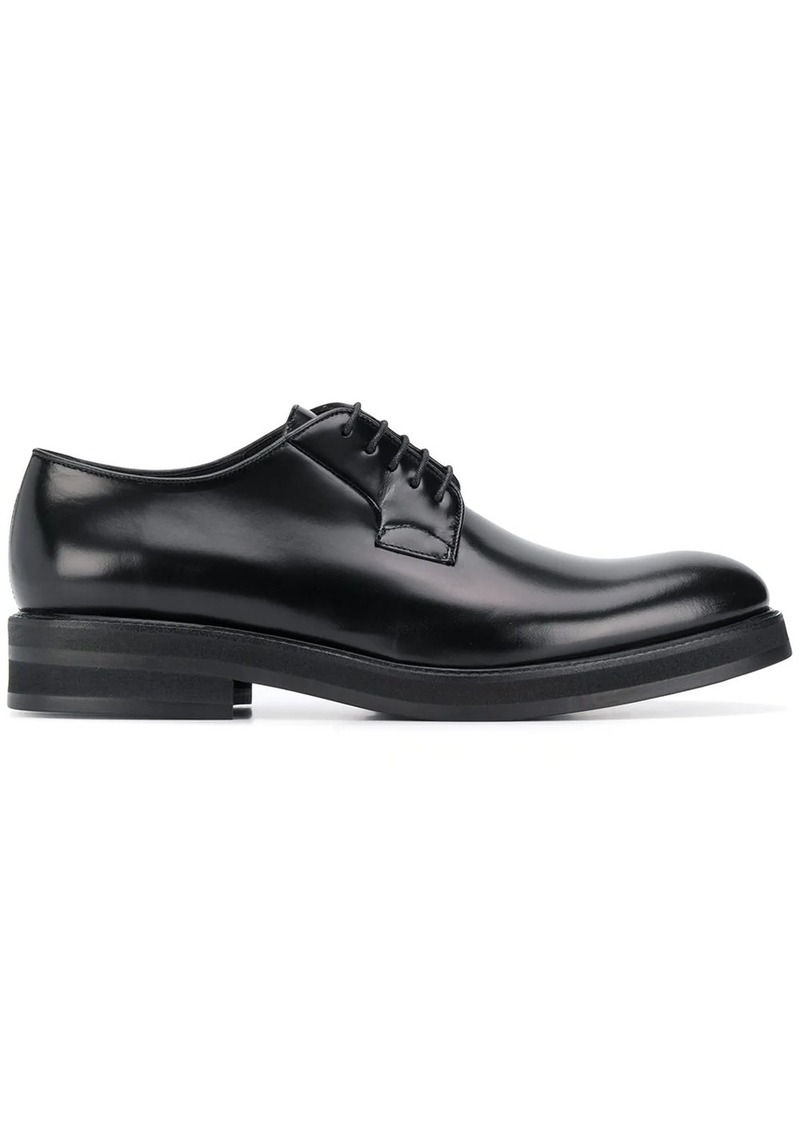 Dsquared2 varnished lace-up shoes