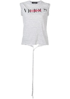 Dsquared2 Vicious tie back tank