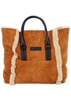 Dsquared2 Victoria Small Shearling Tote Bag