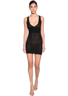 Dsquared2 Viscose Blend Knit Mini Dress