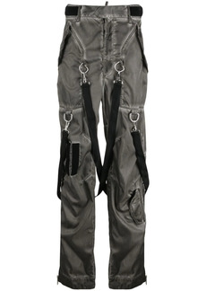 Dsquared2 washed-effect Commander trousers