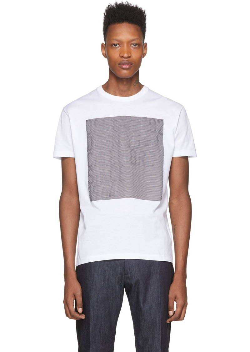 Dsquared2 White Faded T-Shirt