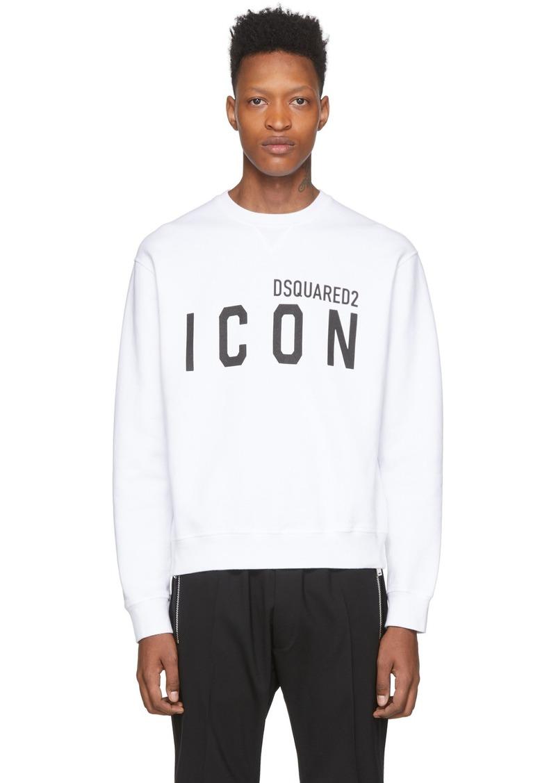 Dsquared2 White 'Icon' Sweatshirt