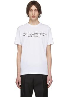 Dsquared2 White Logo T-Shirt