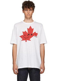 Dsquared2 White Slouch Fit T-Shirt