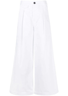 Dsquared2 wide-leg cotton trousers