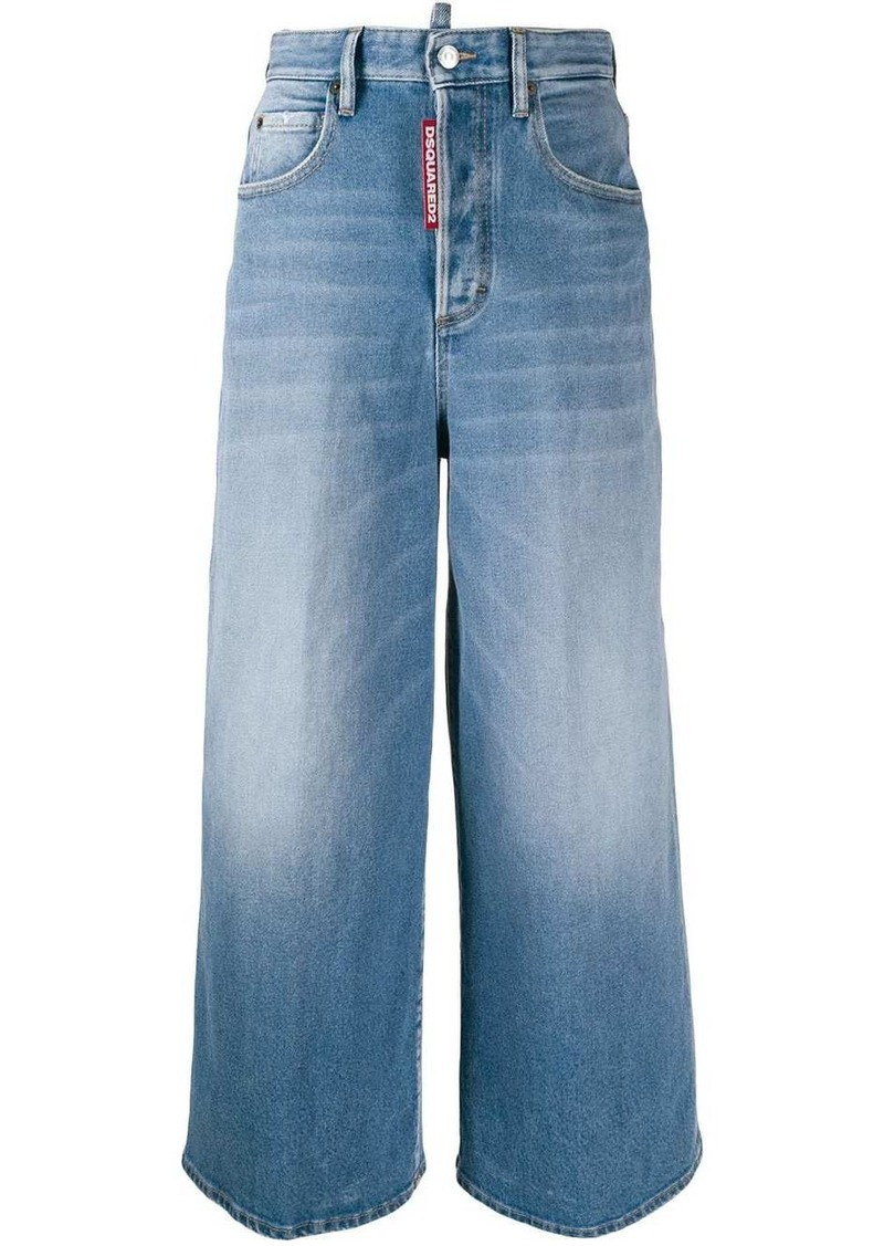 Dsquared2 wide leg jeans