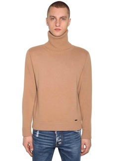 Dsquared2 Wool & Cashmere Turtleneck