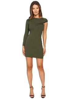 Dsquared2 Wool Jersey Dress