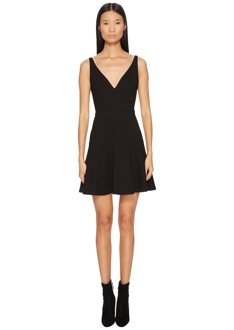 Dsquared2 Wool Jersey Grunge Dress