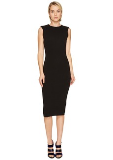 Dsquared2 Wool Jersey Sleeveless Dress
