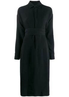 Dsquared2 wrap waist shirt dress