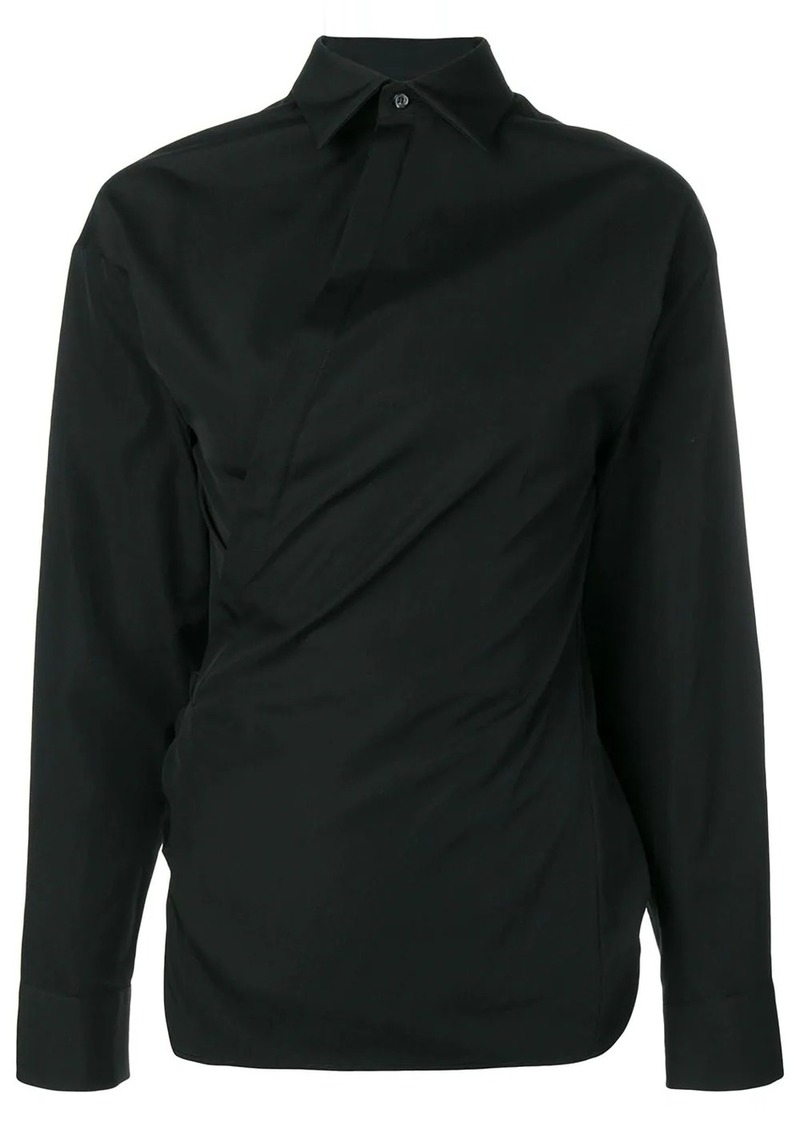 Dsquared2 wrapped front shirt