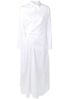 Dsquared2 wrapped shirt dress