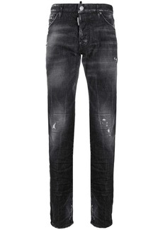 Dsquared2 wrinkle effect distressed jeans