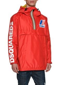 Dsquared2 x K-Way® Short Reversible Nylon Packable Jacket