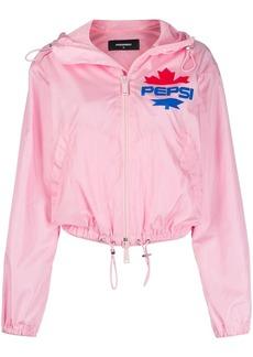 Dsquared2 x Pepsi hooded windbreaker jacket