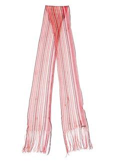 Dsquared2 zig-zag knit scarf