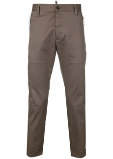Dsquared2 zip-detail tailored trousers