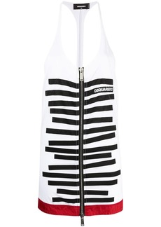 Dsquared2 zip-fastening tank top