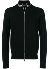 Dsquared2 zip-up logo cardigan