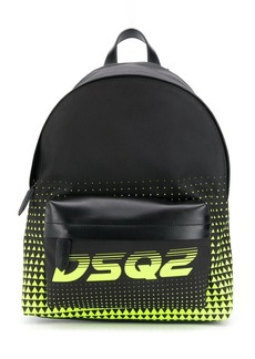 Dsquared2 zipped logo backpack