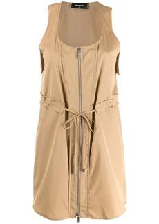 Dsquared2 zipped mini dress