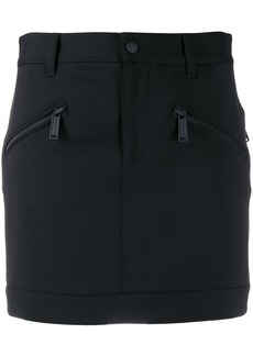 Dsquared2 zipped pocket mini skirt