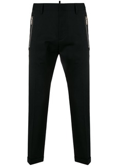 Dsquared2 zipped tailored trousers