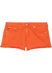 AG Adriano Goldschmied AG Jeans Mary Jane cut-off stretch-denim shorts