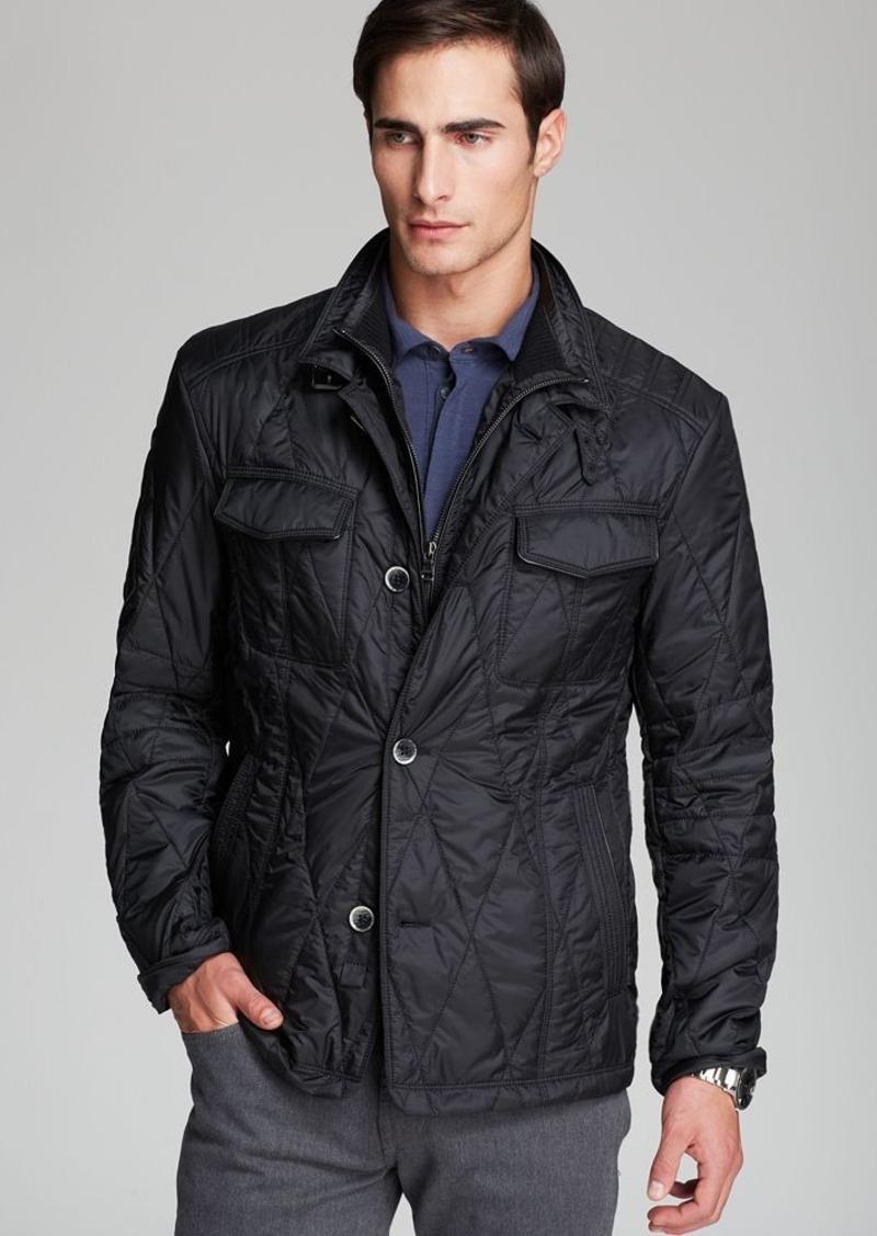 hugo boss boss hugo boss camay quilted jacket outerwear. Black Bedroom Furniture Sets. Home Design Ideas