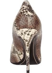 Giuseppe Zanotti Snake-stamped Point-toe Pump