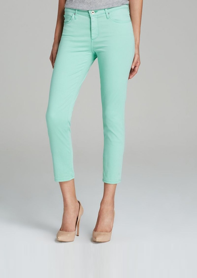 AG Adriano Goldschmied Jeans - Exclusive Prima Crop in Mint Green