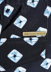 MICHAEL Michael Kors Printed matte-satin pants