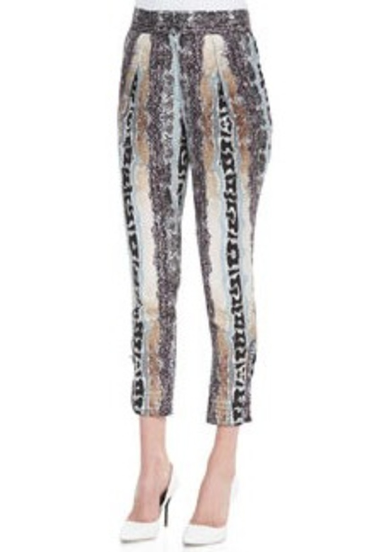 Diane Von Furstenberg Atlas Printed Pants   Atlas Printed Pants