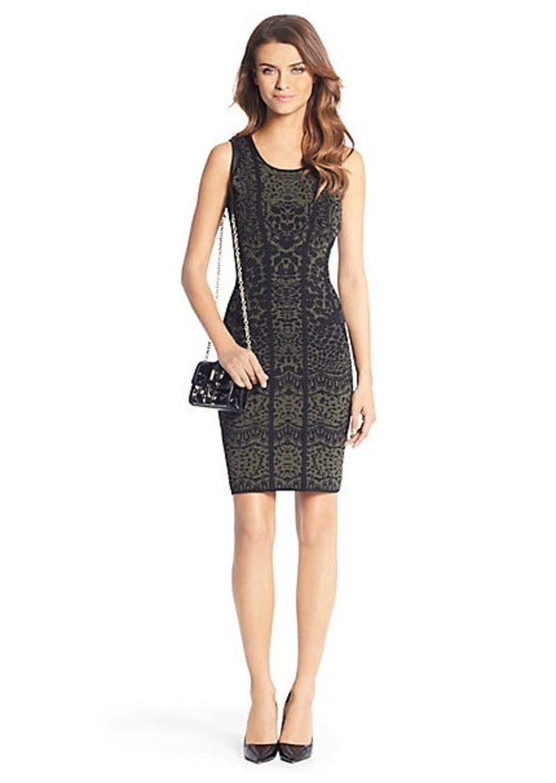 Diane Von Furstenberg Cairo Super Stretch Detail Knit Dress