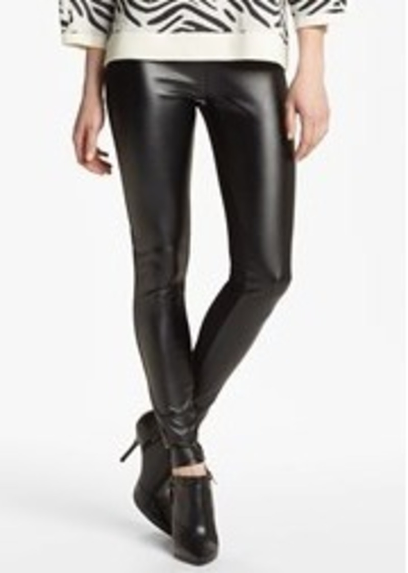 Nordstrom 'Double Trouble' Knit & Faux Leather Leggings