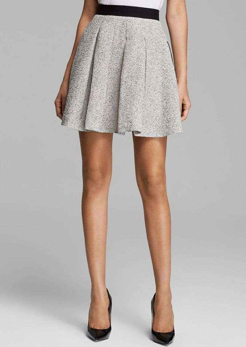 FRENCH CONNECTION Skirt - Salt and Pepper