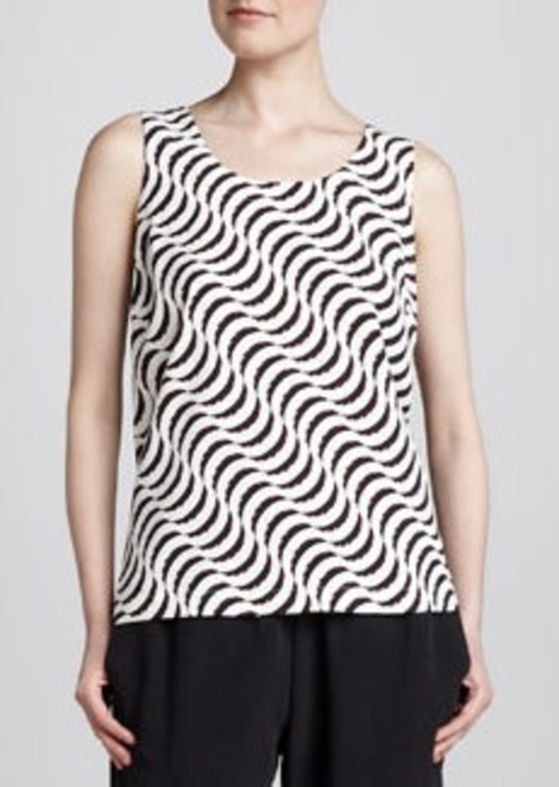 Go Silk Ripple-Print Tank, Women's