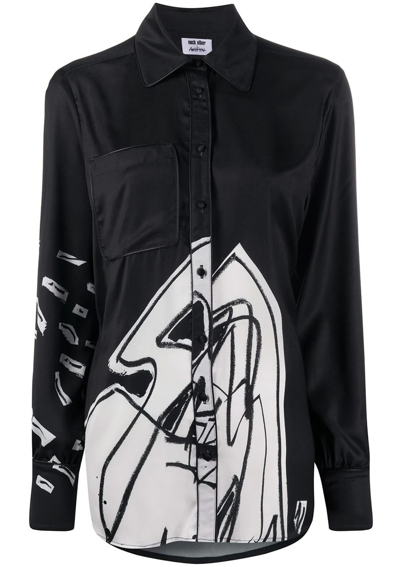 Each x Other abstract print blouse