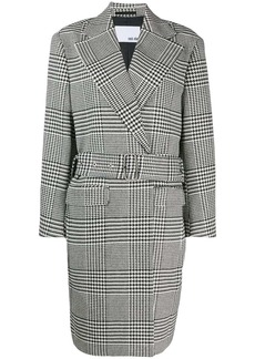 Each x Other belted tailored coat