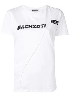 Each x Other deconstructed logo T-shirt