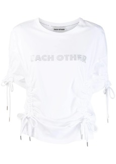 Each x Other drawstring T-shirt